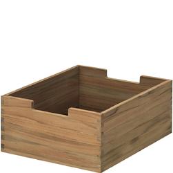 Małe, tekowe pudełko na drobiazgi Cutter Skagerak s1920430