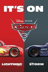 Cars 3 Its On - plakat bajkowy