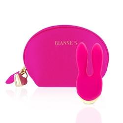 Stymulator łechtaczki - rs essentials bunny bliss   różowy