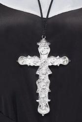 Krzyż do stroju zakonnicy