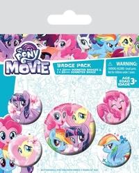 My little pony movie friendship blooms - przypinki