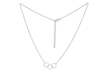 Naszyjnik ze srebra kółeczka