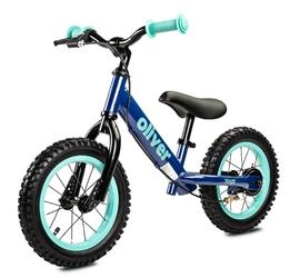 Toyz oliver blue rowerek biegowy pompowane koła + lampka led