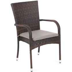 Zestaw ogrodowy stół + 6 krzeseł ariela z poduszkami