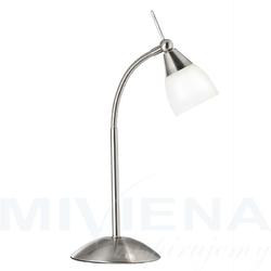 Exec lampa stolowa 1 stal mleczne szkło