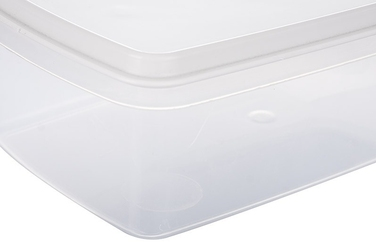Plast team margerit pojemnik prostokątny 1.5 l biały