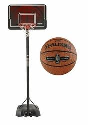 Zestaw do koszykówki kosz NBA Lifetime Memphis - 90064 + Piłka Spalding NBA Platinum Streetball Outdoor