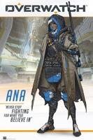 Overwatch ana - plakat gamingowy