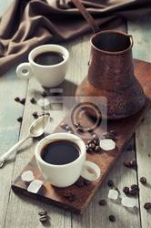Obraz kawa w filiżankach
