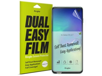 2x folia ochronna ringke dual easy film do samsung galaxy s10 6.1