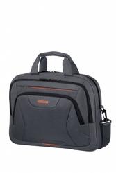 American tourister torba na laptopa at work 15.6 szaro-pomarańczowa