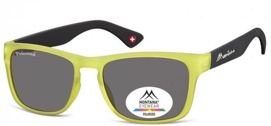 Okulary nerd montana mp39b limonkowe polaryzacyjne