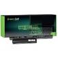 Green cell bateria do sony vaio pcg 11,1v 4400mah