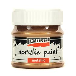 Farba metaliczna 50 ml - miedziana antyczna - MIEANT