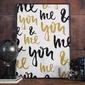 Me amp; you - plakat designerski , wymiary - 60cm x 90cm, kolor ramki - czarny