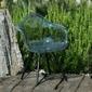 Krzesło ogrodowe tunis wood transparentne dymione