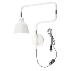 Its about romi :: lampa ścienna london - biała