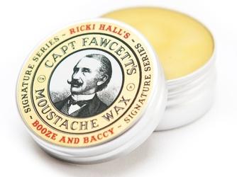 Captain fawcett ricki hall booze  baccy wosk do wąsów 15 ml