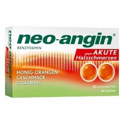 Neo Angin Benzydamin akute Halsschmerz.honig-oran.