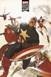 Marvel 80 years avengers - plakat
