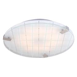 Duża, okrągła lampa sufitowa - plafon led 40 cm noble candellux 14-30108