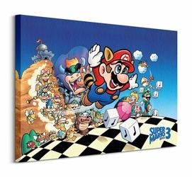 Super Mario Bros 3 Art - Obraz na płótnie
