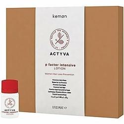 Kemon ACTYVA P Factor intensive lotion dla kobiet na wypadanie włosów 12x6ml