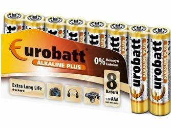 Eurobatt Bateria Alkaliczna LR3 AAA  Alkaline plus 1,5V
