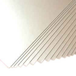 Karton ozdobny MILLENIUM 220gA4 srebrny 20 sztuk - srebrny - 20 SZTUK