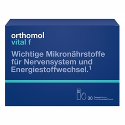 Orthomol Vital F ampułki + kapsułki