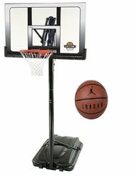 Zestaw do koszykówki Lifetime San Antonio + Piłka Air Jordan Ultimate 8P