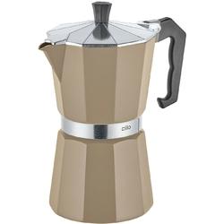 Kawiarka na 6 filiżanek espresso classico cilio beżowa ci-321401