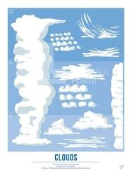 Plakat Clouds 30 x 40 cm