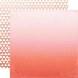 Ozdobny papier 30,5x30,5 cm - Orange Ombre - 02