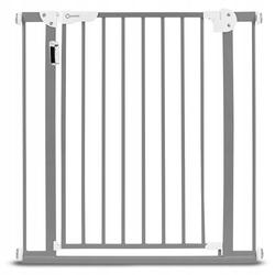 Lionelo truus slim led grey barierka zabezpieczająca schody i drzwi 75-105 cm
