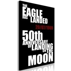 Obraz - lądowanie na księżycu 1-częściowy pionowy