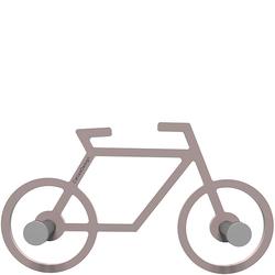 Wieszak ścienny Bike CalleaDesign szara śliwka 13-008-34