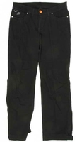 Spodnie 115 jeans lady black damskie kolor czarny- bez ochraniaczy bce