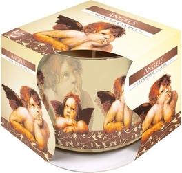 Bispol, świeca zapachowa w szkle, aniołki, 1 sztuka