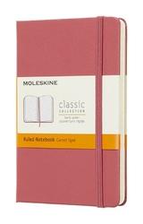 Notes Moleskine kieszonkowy w linie daisy pink