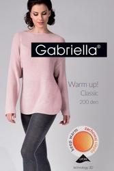 Rajstopy gabriella 409 warm up 200 den melange