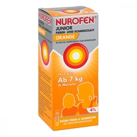 Nurofen junior fieb.+schmerzsaft orange 40mgml