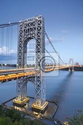 Fototapeta george washington bridge, new york.