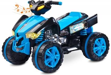 Toyz raptor niebieski quad dla dziecka