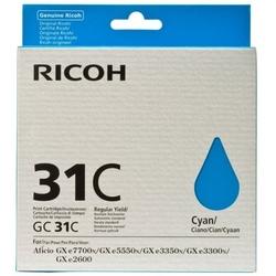 Tusz oryginalny ricoh gc-31c 405689 błękitny - darmowa dostawa w 24h