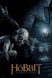 The hobbit gollum - plakat