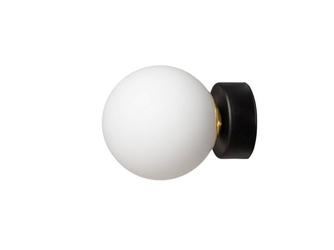 Kaspa :: lampa ścienna  kinkiet astra czarny