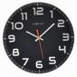 Nextime - zegar ścienny classy 30 cm - czarny