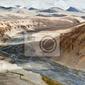 Fototapeta himalaya wysokie góry krajobraz. indie, ladakh