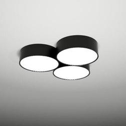 Shilo :: plafon  lampa sufitowa  zama 133 led module czarny